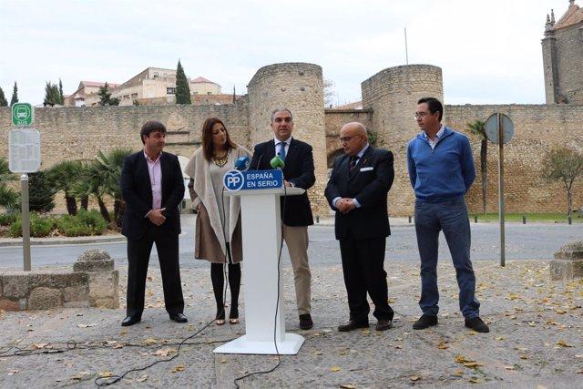 Pp rueda de prensa elecciones elías bendodo ronda