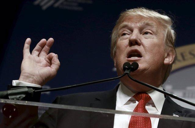 Donald Trump, candidato a las primarias del Partido Republicano