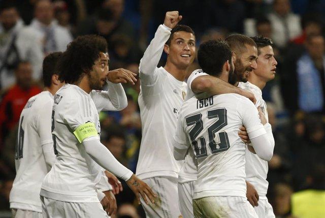 Cristiano lidera el triunfo ante el Malmoe con cuatro goles
