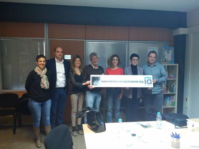 Encuentro de Batet (PSOE) y Granados (PSC) con la Fedaia
