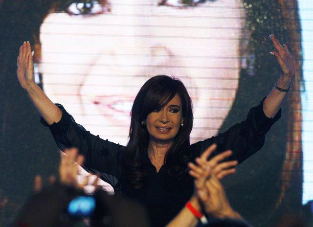 Cristina Fernandez De Kirchner, Presidenta De La Argentina