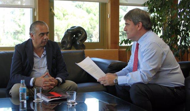 José Luis Sáez y Miguel Cardenal