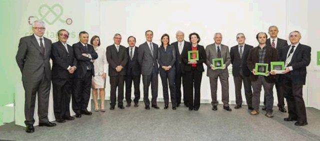 Premiados La Sexta y Fundación AXA
