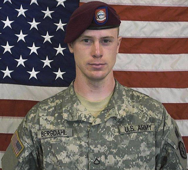 El sargento estadounidense Bowe Bergdahl