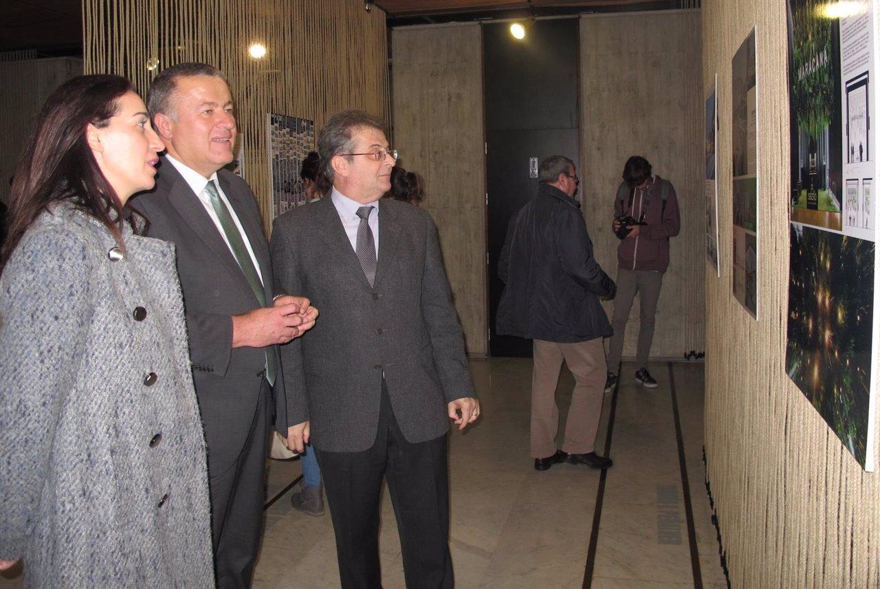 Inauguración de la exposición de los premios de arquitectura