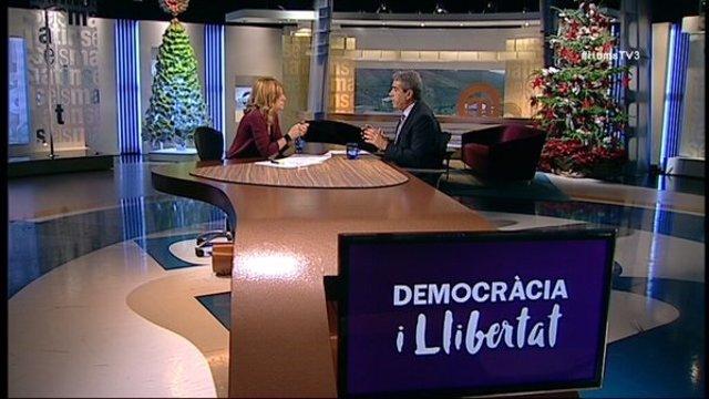 Francesc Homs en TV3