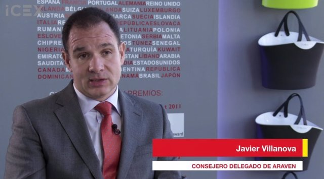 Consejero delegado de Araven, Javier Villanova