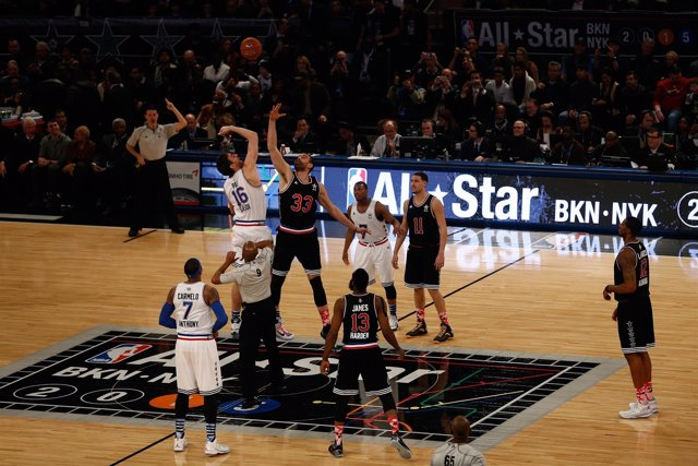 NBA All-Star Game en Madison Square Garden hermanos Gasol