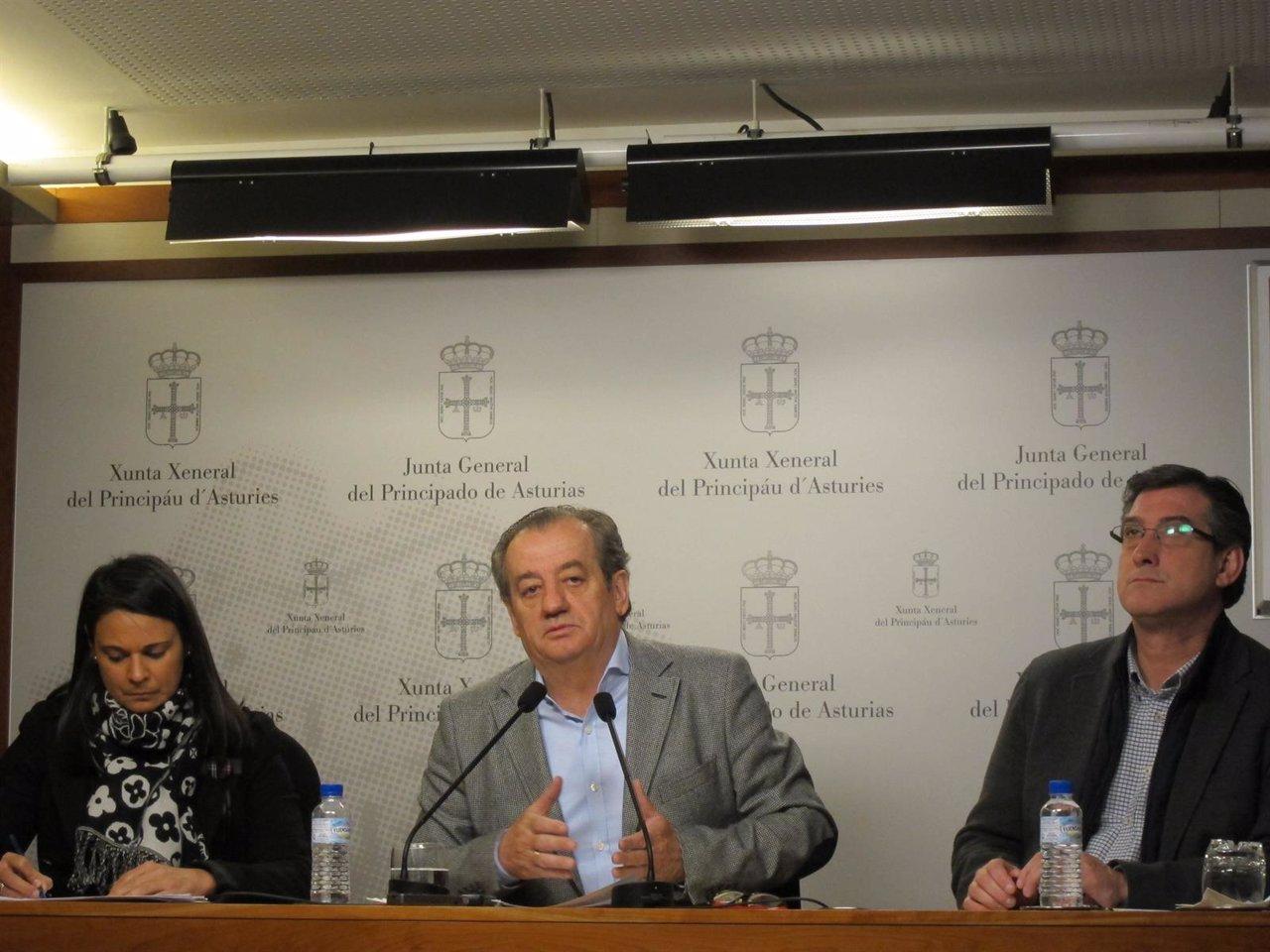 Diputados de Ciudadanos en la Junta General