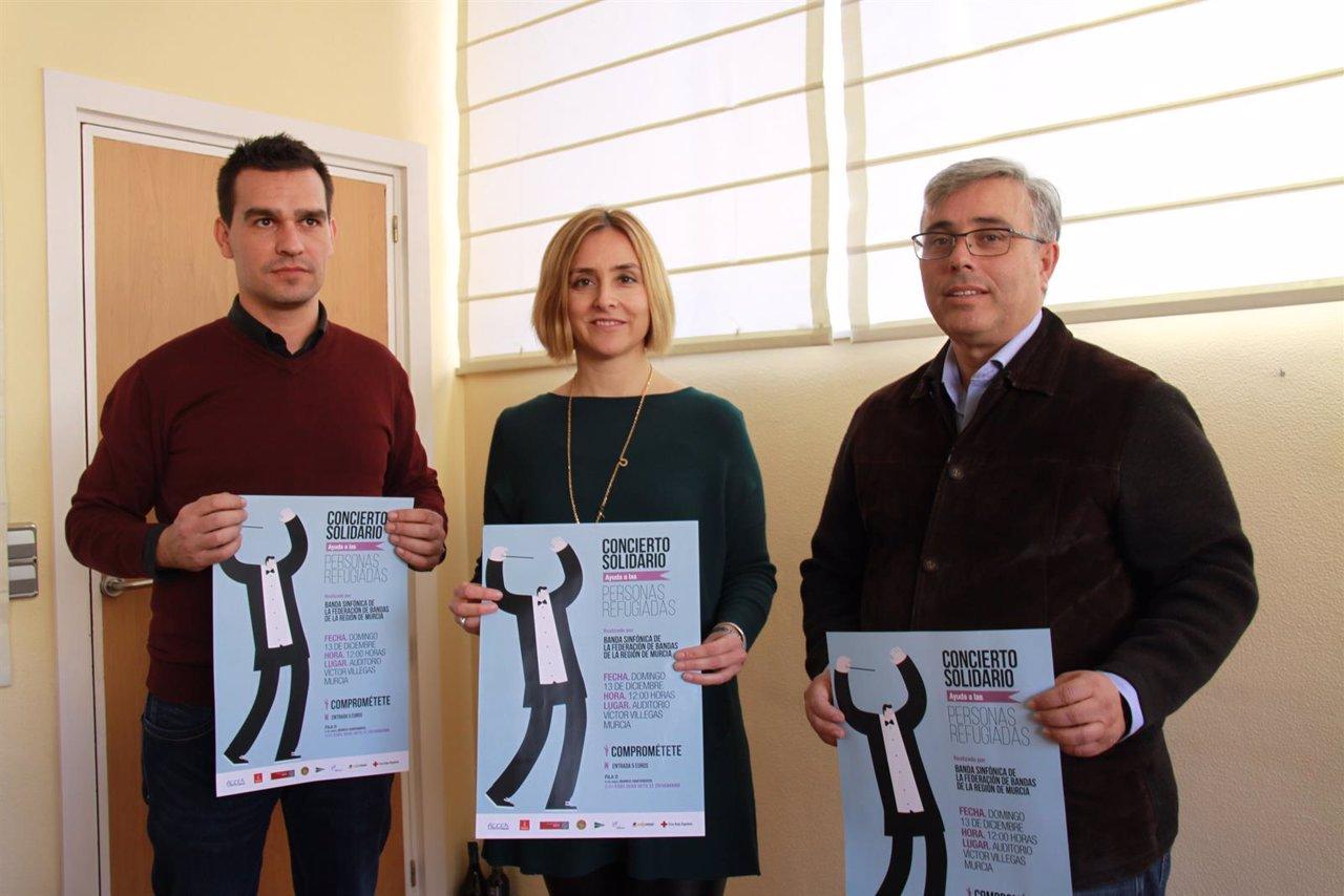Conciertos Solidarios a favor de los Refugiados en Murcia y Cartagena