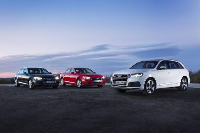 Audi A4 y Q7