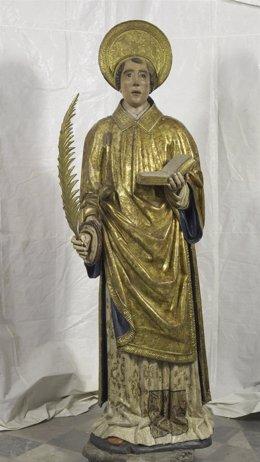 Talla de Sant Feliu restaurada