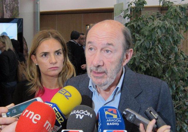 El exsecretario general del PSOE, Alfredo Pérez Rubalcaba