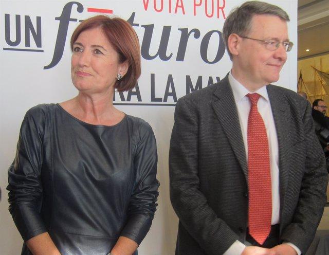Puerto Gallego y Jordi Sevilla