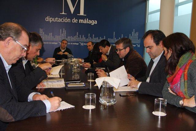Junta de gobierno de la Diputación de Málaga