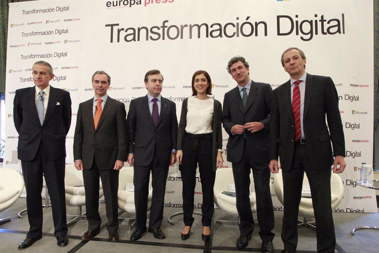 Encuentro de Europa Press sobre  'Transformación Digital de la Banca'