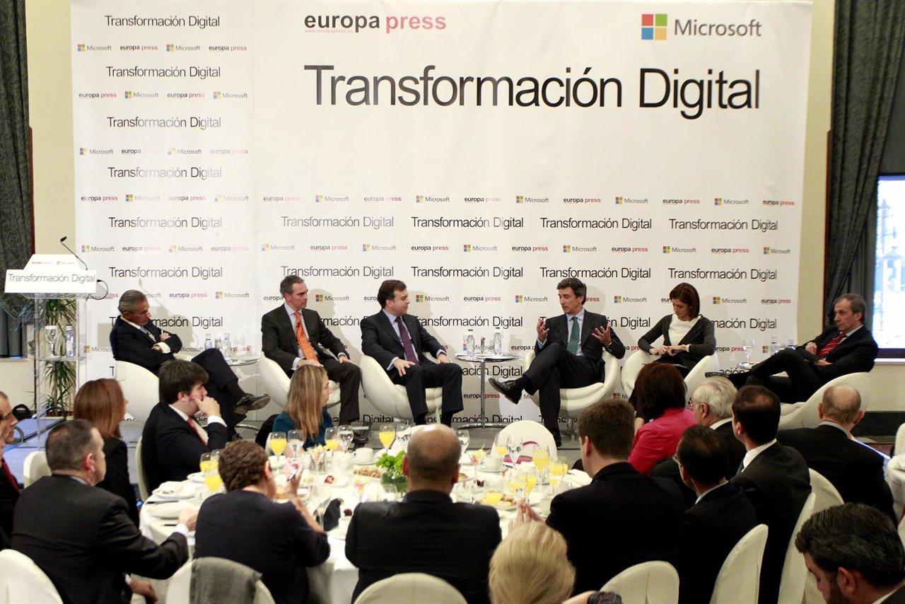 Transformación digital de la banca' organizado por Europa Press y Microsoft