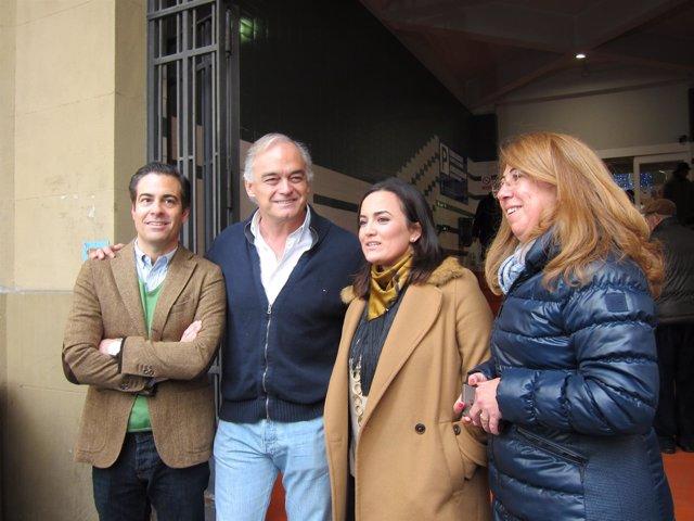 Zalba, González Pons, Sanz y Alba en Pamplona