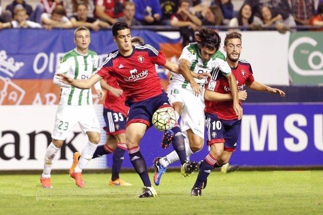 Osasunay el Córdoba en Liga