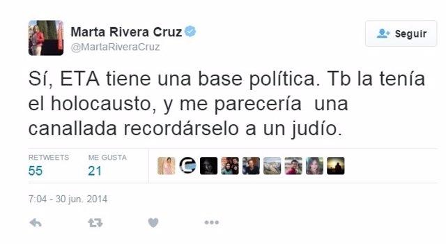 Tuit Maria Rivera Cruz Cs