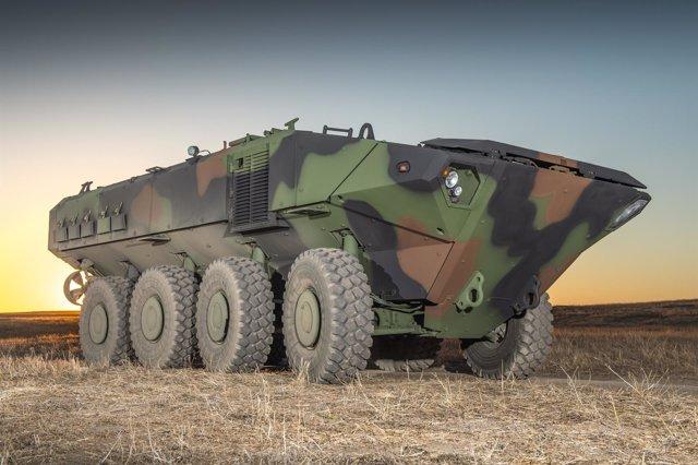 Vehículo anfibio blindado para los Marines de EEUU
