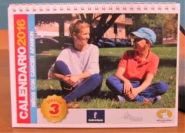 Calendario, Afanion, niños con cáncer