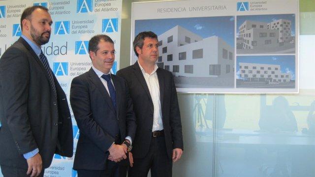El rector de Uneatlántico presenta el proyecto de la residencia de estudiantes