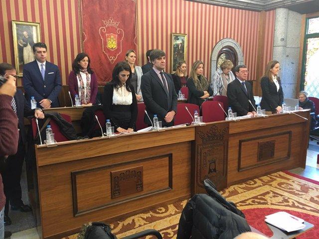 Pleno del Ayuntamiento de Burgos.