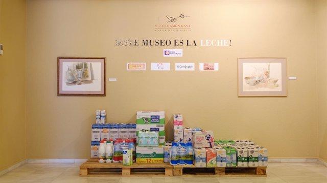 Campaña solidaria 'Este Museo es la leche'