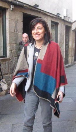 Angeles Vázquez, conselleira de Medio Rural