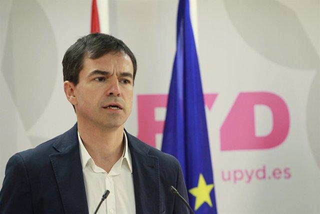 El candidato de UPyD a la Moncloa, Andrés Herzog