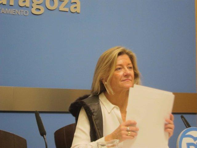 La concejal del PP, Patricia Cavero