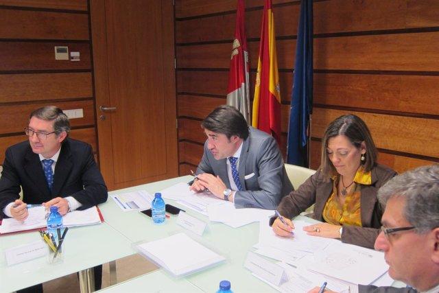 Suárez-Quiñones en el Consejo Regional Agrario