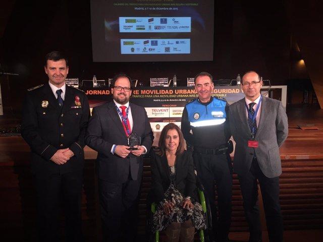 Entrega de los premios Proyecto Líder: Vision Zero Municipal