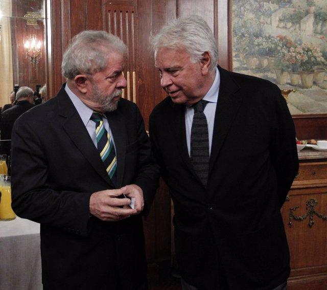 Felipe González y Lula Da Silva