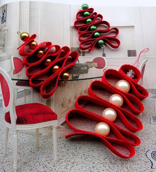 16 Adornos De Navidad Para Hacer A Mano Faciles Y Originales - Adornos-originales-para-navidad