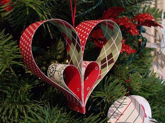 16 Adornos De Navidad Para Hacer A Mano Faciles Y Originales - Adronos-de-navidad