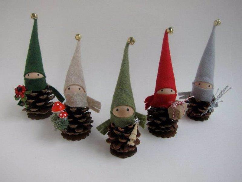 16 adornos de navidad para hacer a mano f ciles y originales for Adornos originales para navidad