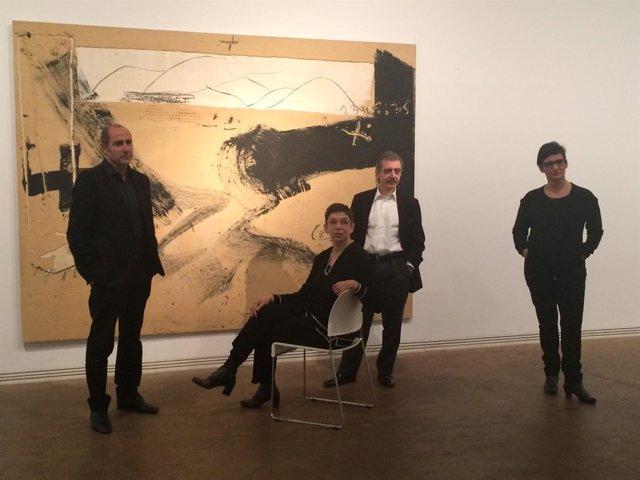 Los exdtores.C.Guerra, L.Rassel, M.Borja-Vilell y N.Enguita