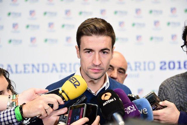 Gabi, jugador del Atlético de Madrid