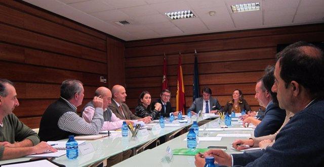 Marcos y Suárez-Quiñones presiden el Consejo Regional Agrario