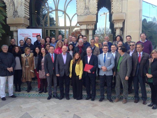 Reunión del PSOE en la Cartuja.