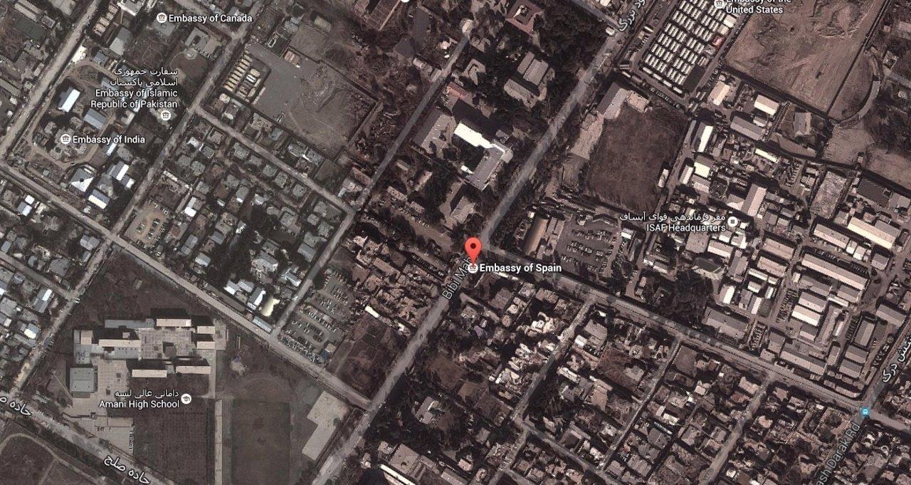 Embajada española en Kabul