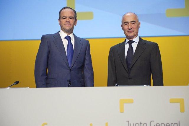 Rafael del Pino e Íñigo Meirás