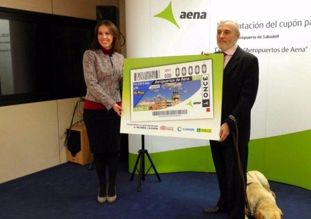 Ana Molés (Aeropuerto de Sabadell) y José Morcillo (Once)