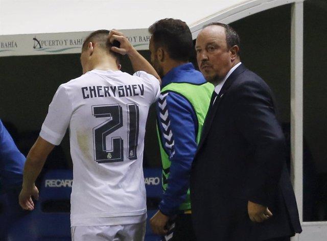 Cherysev, cambiado en Cádiz tras la alineación indebida