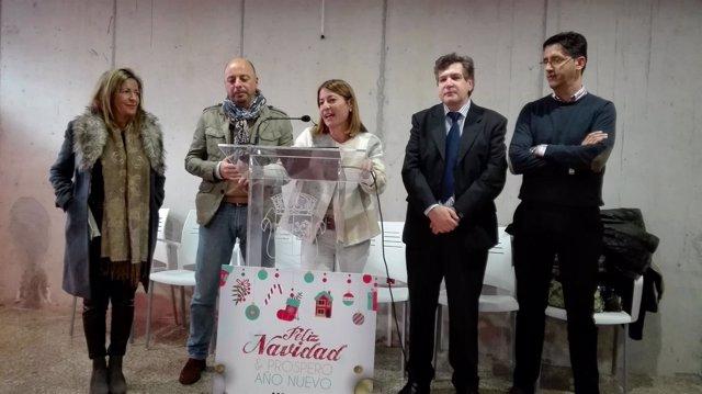 Presentación de la programación de Navidad en Cáceres