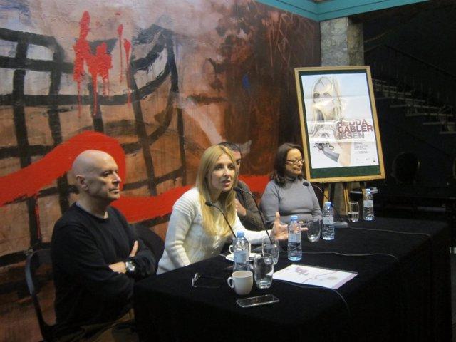 Cayetana Guillén Cuervo y Rafa Campos en el Principal