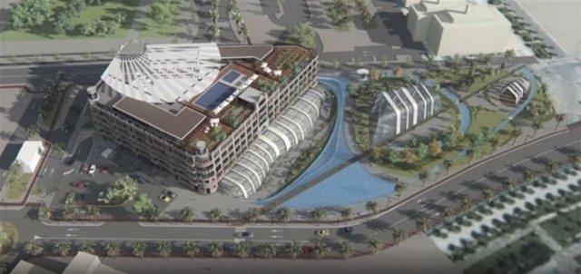 Recreación del proyecto de ARC resorts