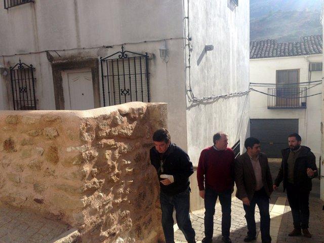 Visita de Francisco Reyes a Beas de Segura